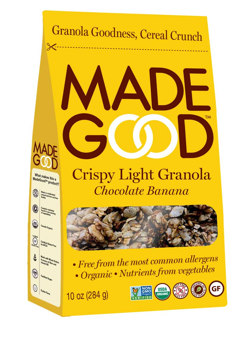 Made Good Crispy Light Chocolate Banana Granola