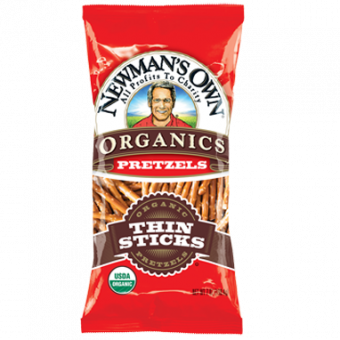 Newman's Own Organics Organic Traditional Thin Pretzels