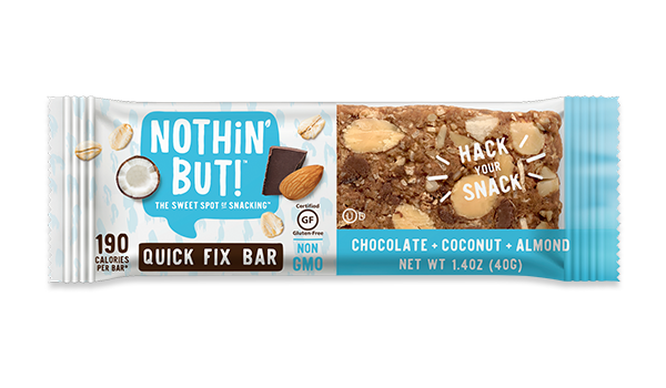 Nothin' But Quick Fix Bar - Chocolate, Coconut and Almond