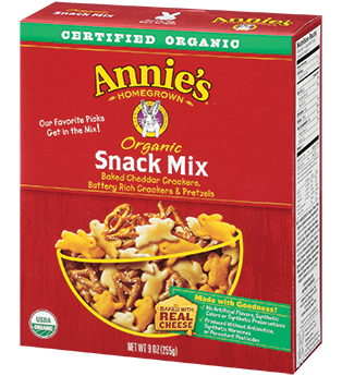Annie's Homegrown Organic Snack Mix