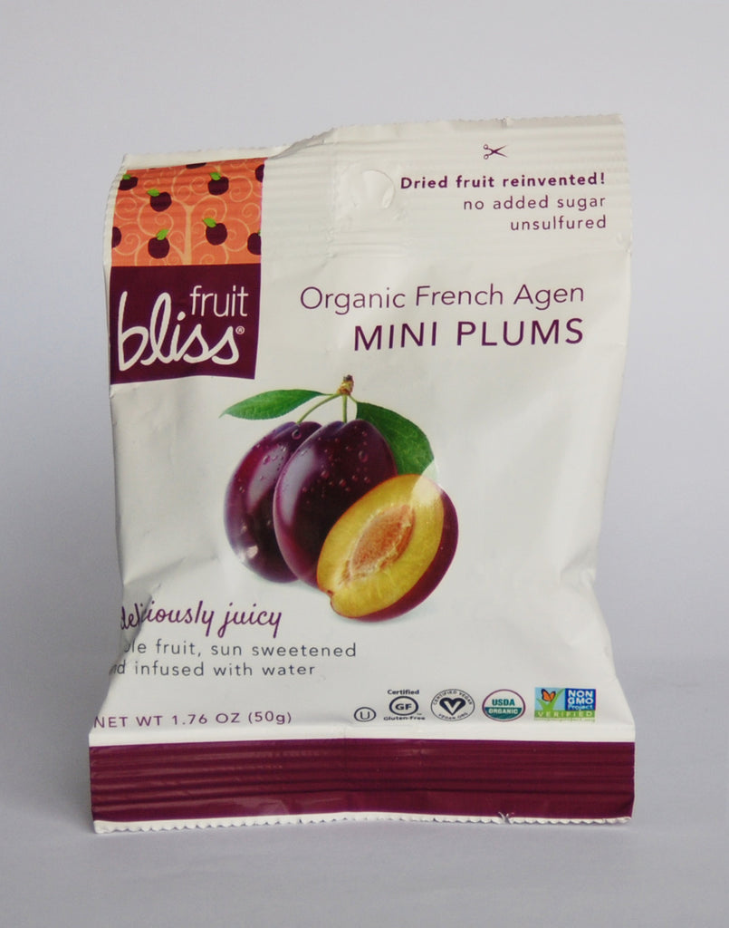 Fruit Bliss Organic Dried Plums - Mini French Agen
