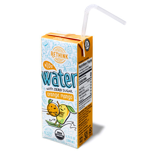 RETHINK Orange Mango Kids Water
