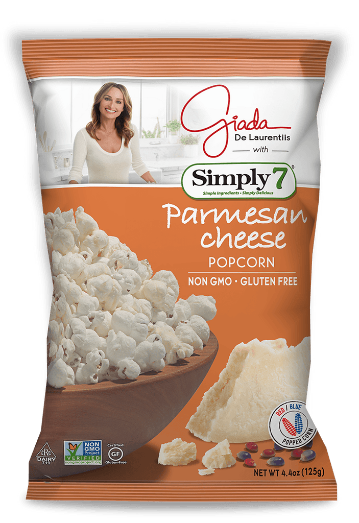 Simply 7 Parmesan Cheese Popcorn - 24 count