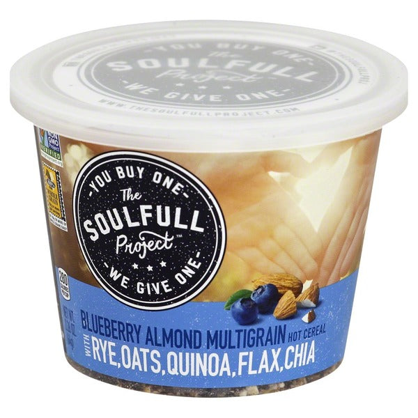 The Soulfull Project - Blueberry Almond Multigrain Hot Cereal