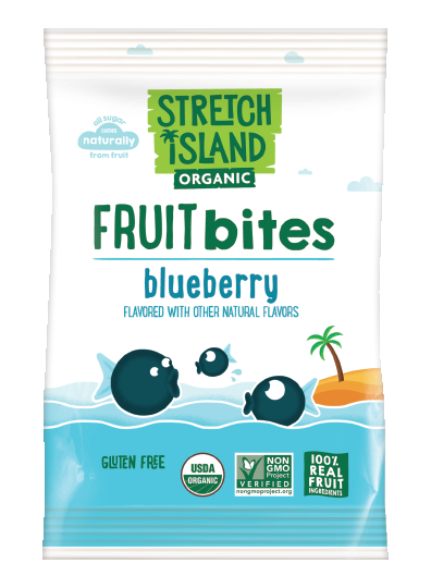 Stretch Island Organic Fruit Bites - Blueberry