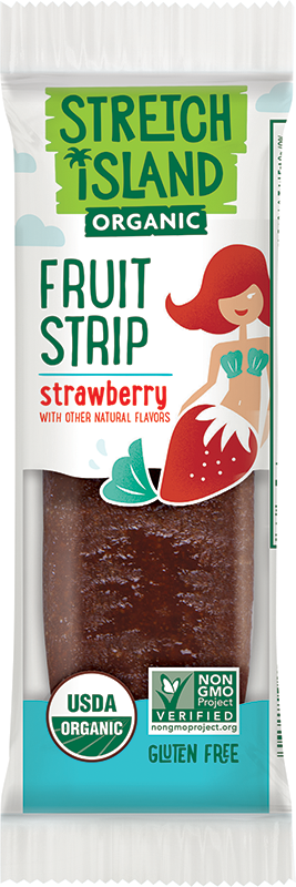 Stretch Island Organic Fruit Strip - Strawberry