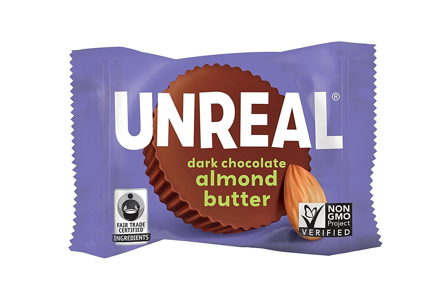 UNREAL Mini Dark Chocolate Almond Butter Cups