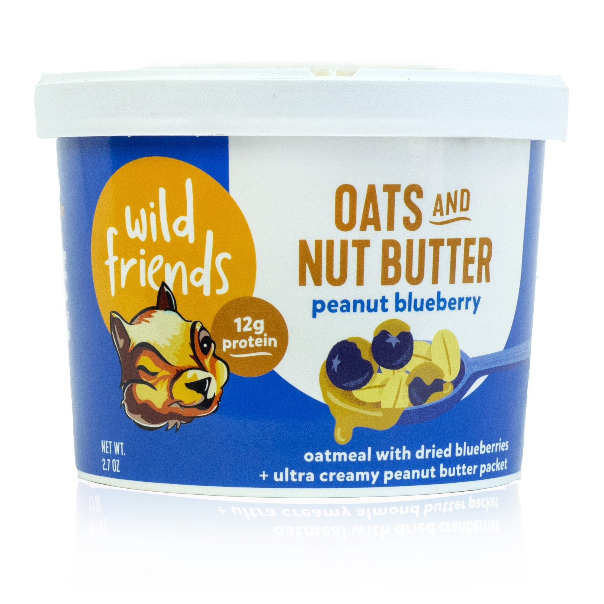 Wild Friends Nut Butter Oats - Blueberry Peanut Butter
