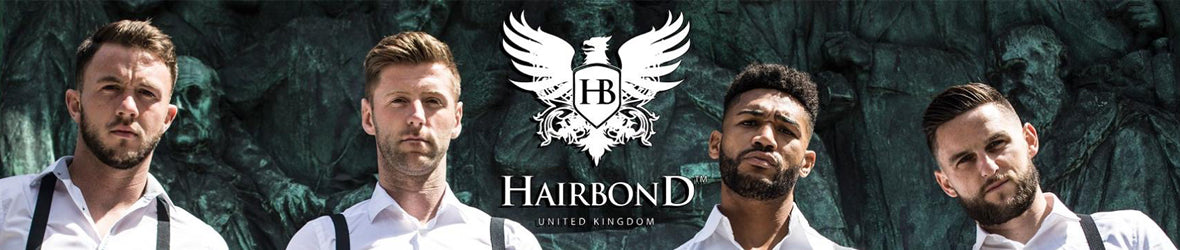 Hairbond mens hair styling