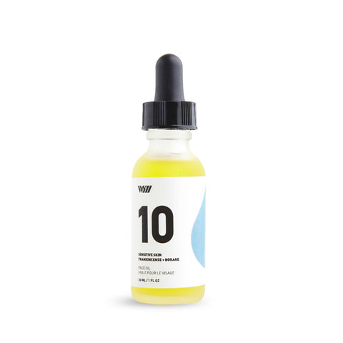 Way Of Will Dry Skin Face Oil Serum - Geranium + Patchouli (30ml)