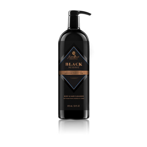 Jack Black Black Reserve Body & Hair Cleanser (Size Options)
