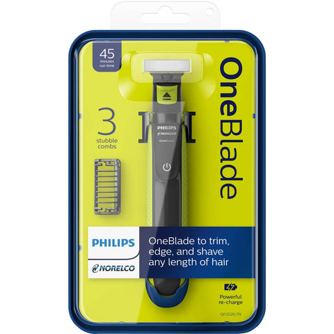 Philips QP2520 OneBlade Hybrid Electric Trimmer and Shaver