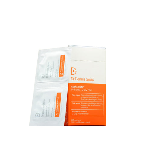Dr. Dennis Gross Skincare Alpha Beta Universal Daily Peel (30-60 treatments)