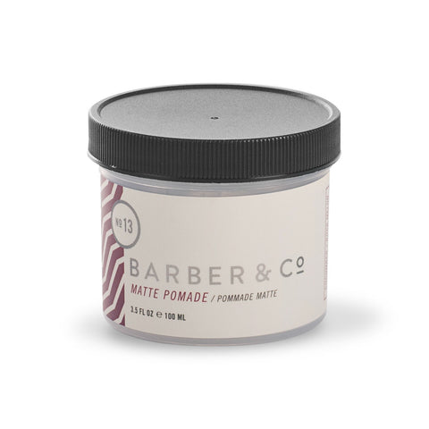 Barber & Co NO.13 Matte Pomade (100ml)