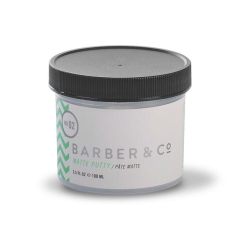 Barber & Co NO.02 Matte Putty (100ml)