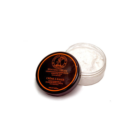 Castle Forbes Cedar & Sandalwood Essential Oil Shaving Cream (200ml)