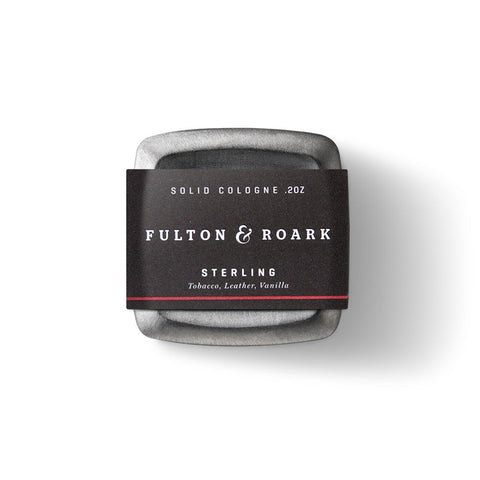 Fulton & Roark Solid Cologne - Sterling (.2oz)