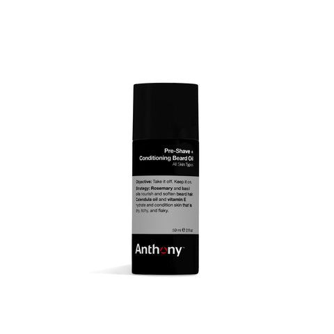 Anthony Logistics Pre-Shave + Conditioning Beard Oil (59ml)