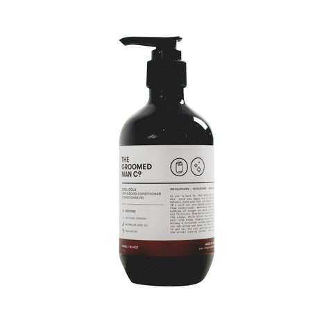 The Groomed Man Co. Cool Cola Hair + Beard Conditioner (300ml)