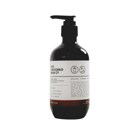 The Groomed Man Co. Cool Cola Hair + Beard Shampoo (300ml)