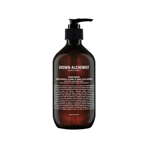 Grown Alchemist Hand Wash - Sandalwood, Ylang Ylang, Hyaluronan (500ml)