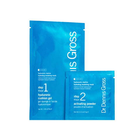 Dr. Dennis Gross Skincare Hyaluronic Marine Hydrating Modeling Mask (4 treatments)