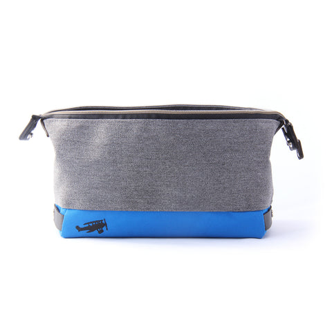 Vesper Faering Sidecar Toiletry Kit - Unity Granite/Pacific Blue