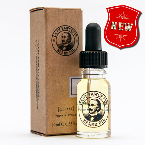 Captain Fawcett's Private Stock Beard Oil (Size Options)