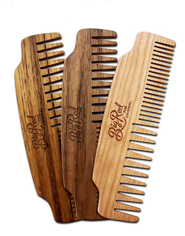Big Red No.53 Beard Beard Comb - Options