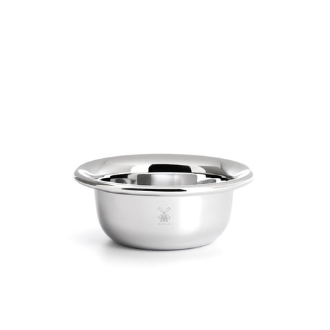 Muhle Shaving Bowl, Stainless Steel, Chrome-Plated
