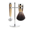 Muhle Liscio 3pc Shaving Set (Finish Options)