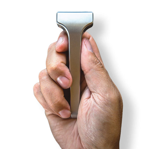 Supply Single Edge 2.0 Razor - Stainless Steel, Classic Matte, Classic Setting only