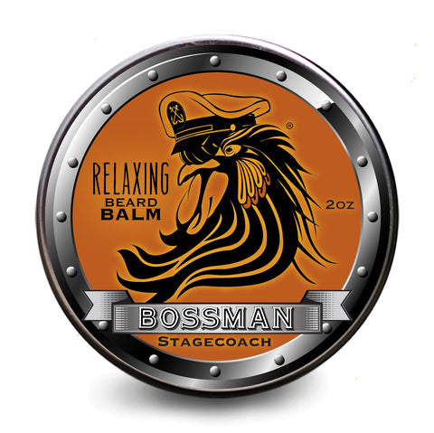 Bossman Relaxing Beard Balm (2oz) - Scent Options