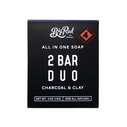 Big Red All In One Soap - 2 Bar Duo (113g)