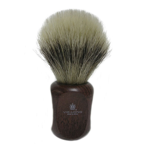 Vie-Long Horse Hair Shaving Brush with Oak Wood Handle