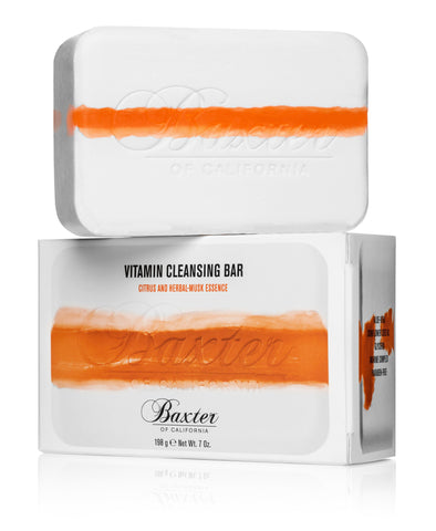 Baxter of California Vitamin Cleansing Bar - Citrus & Herbal Musk-Essence (198g)