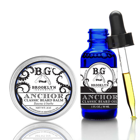 Brooklyn Grooming Co. Beard Balm + Beard Oil Duo - Options