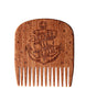 Big Red No.5 Beard Comb - Makore (Options)
