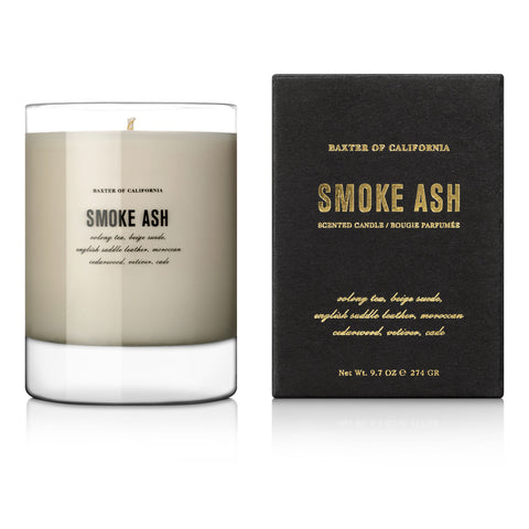 Baxter of California Smoke Ash Scented Candle (274g)
