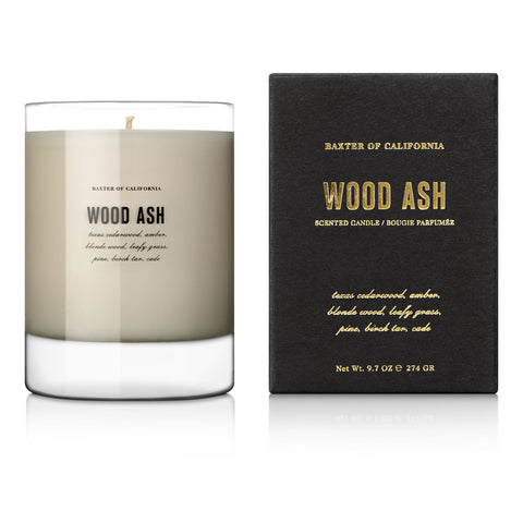 Baxter of California Wood Ash Scented Candle (274g)
