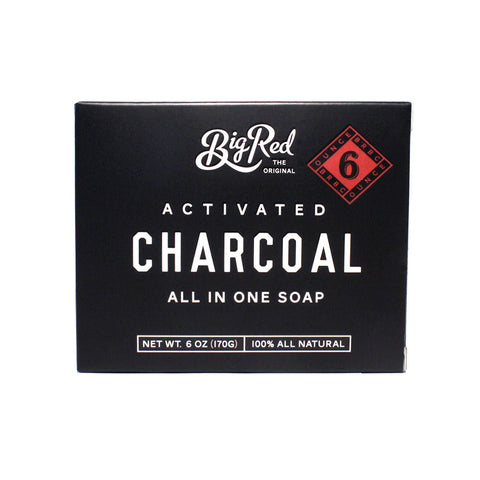 Big Red Beard & Body Soap - Charcoal (170g)