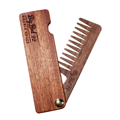 Big Red No.22 Double Deuce Beard Comb - Options