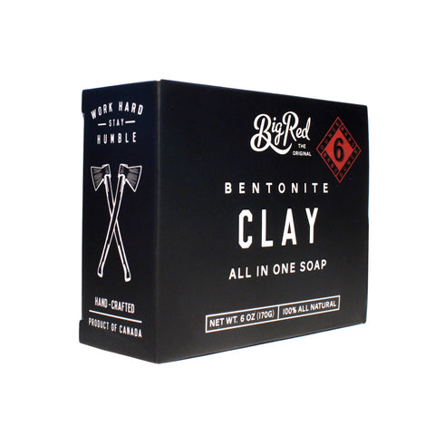 Big Red Beard & Body Soap - Clay (6oz)