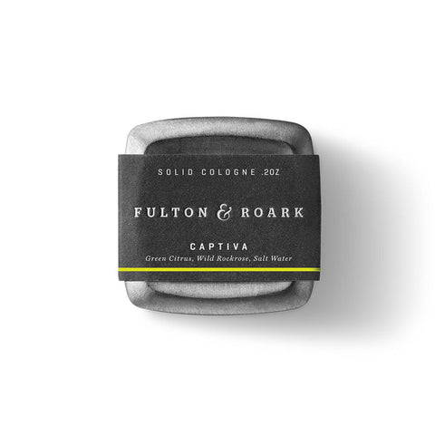 Fulton & Roark Solid Cologne - Captiva (.2oz)