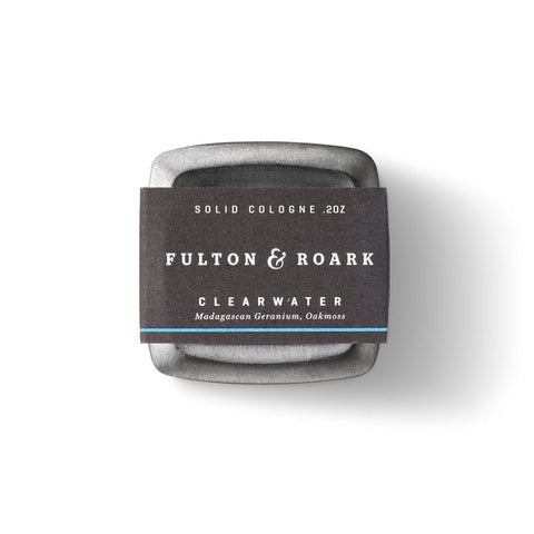 Fulton & Roark Solid Cologne - Clearwater (.2oz)