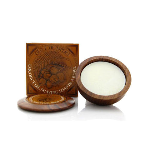 Geo. F. Trumper Coconut Hard Shaving Soap (80g)