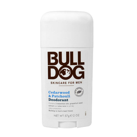 Bulldog Deodorant - Cedarwood & Patchouli (50ml)
