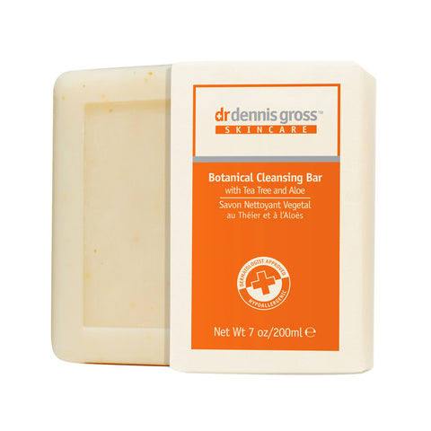Dr. Dennis Gross Skincare Botanical Cleansing Bar with Tea Tree & Aloe (200g)