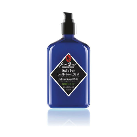 Jack Black Double Duty Face Moisturizer SPF 20 (Size Options)