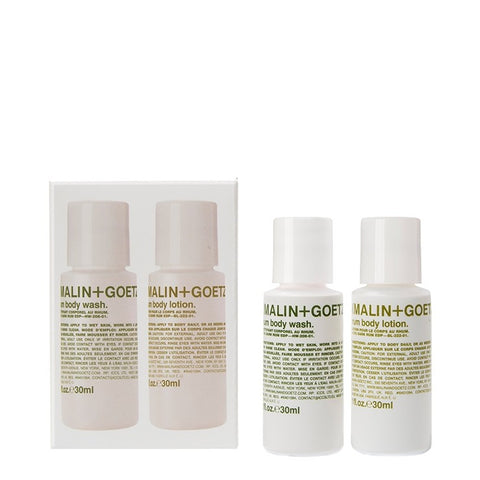 (Malin+Goetz) Rum Body Duo Set (2 x 30ml)